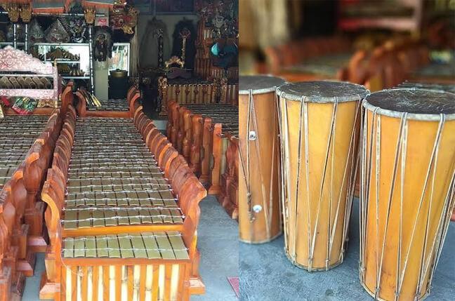 Oleh-oleh khas bali - Alat Musik Gamelan Bali