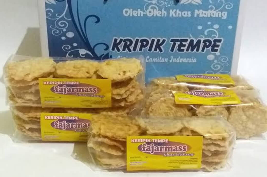 Keripik Tempe Khas Malang