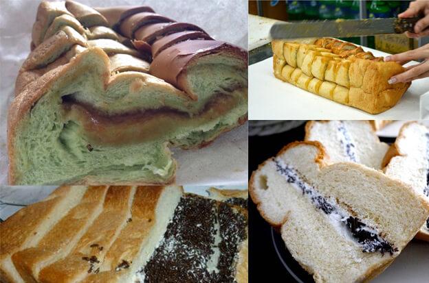 Roti Tawar Selai Srikaya Ganda