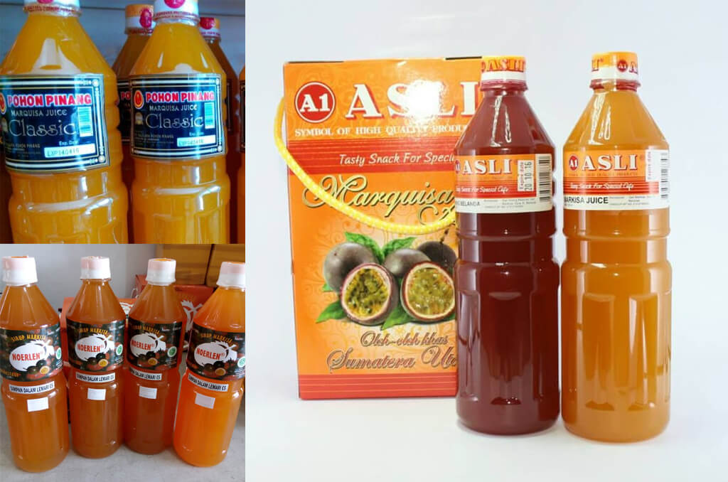 Oleh-oleh khas medan - Sirup Markisa