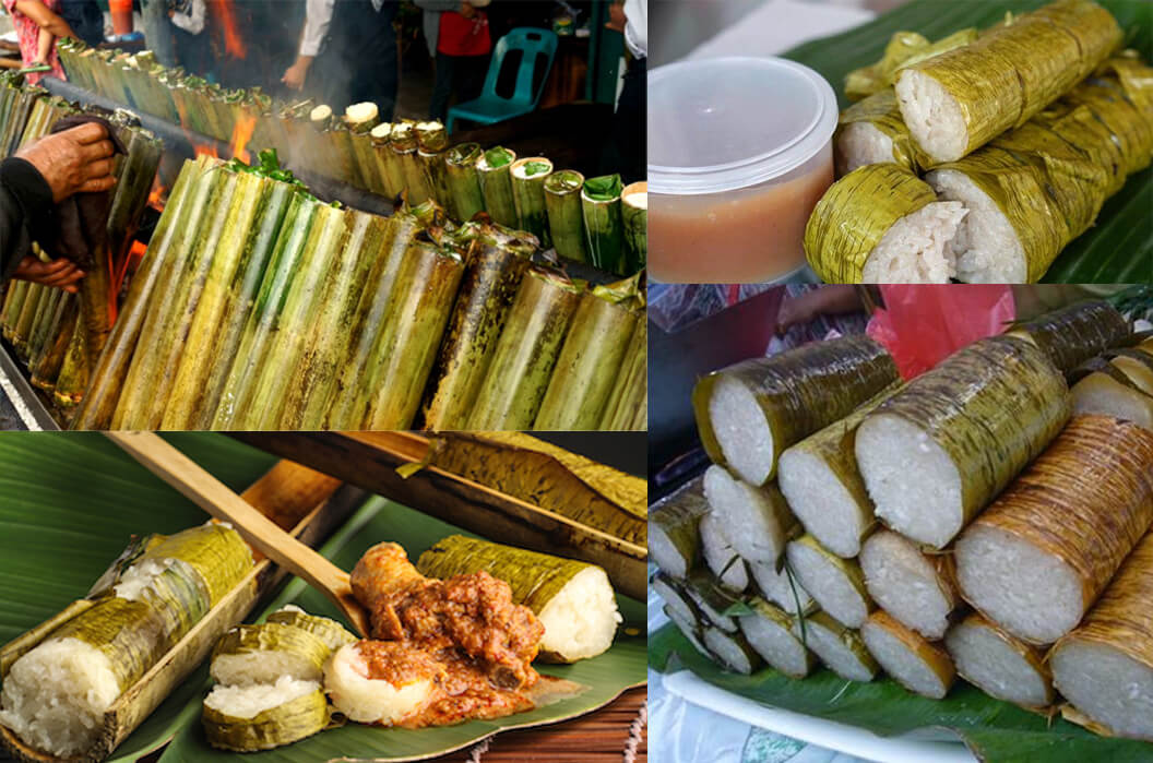 Oleh-oleh khas medan - Lemang
